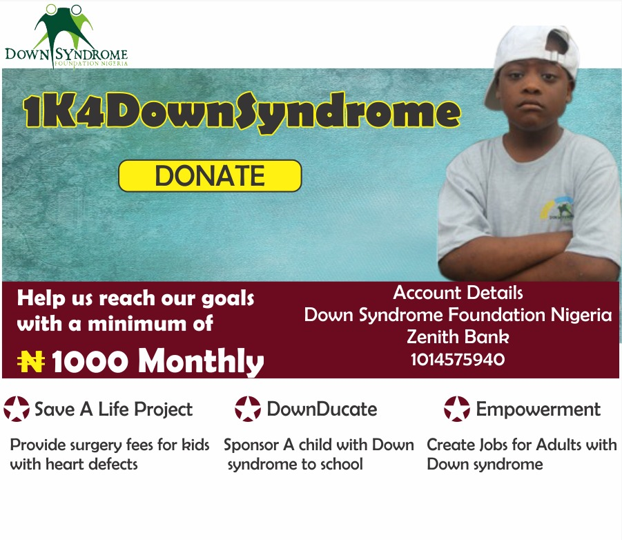 #1k4DownSyndrome Campaign