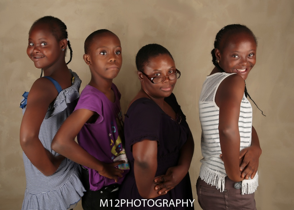 Martha, Chinelo, Mayowa and Favour
