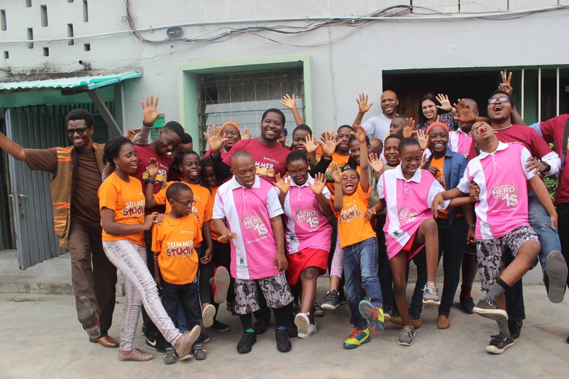 Summer Studio and Down Syndrome Foundation Nigeria