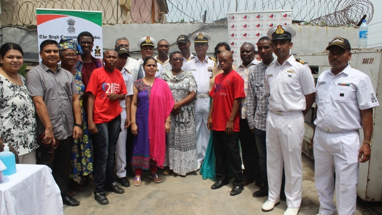 Medical Camp For Persons With Down Syndrome Organized By Indian Ship Tarkash